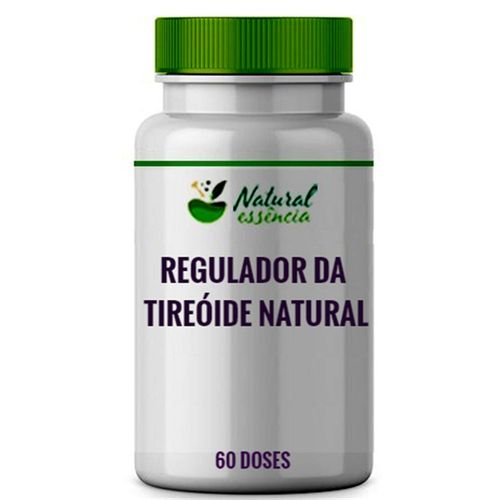 Composto regulador da Tireóide Natural 60 doses